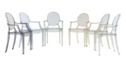 Kartell stoel louis ghost by Philippe Starck